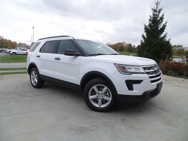 New 2018 Ford Explorer 4DR 4WD BASE