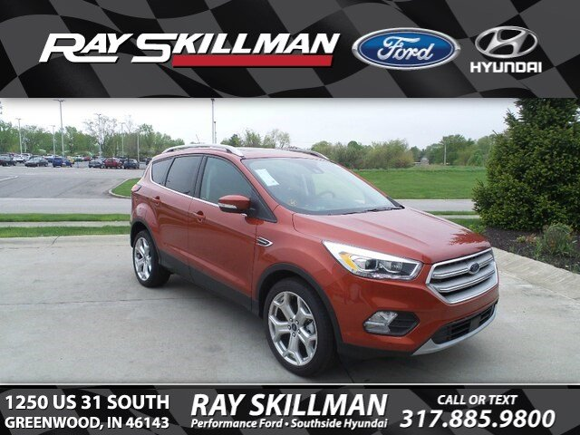 New 2019 Ford Escape Titanium