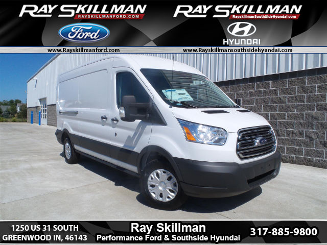 New 2017 Ford Transit-350 w/Sliding Pass-Side Cargo-Door