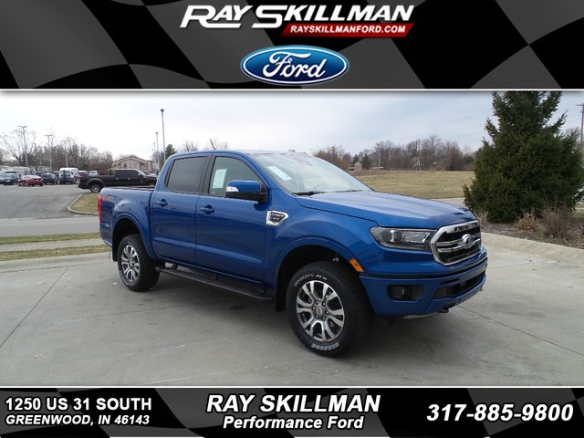 New 2019 Ford Ranger 2DR 4WD SPRCAB 5'BOX