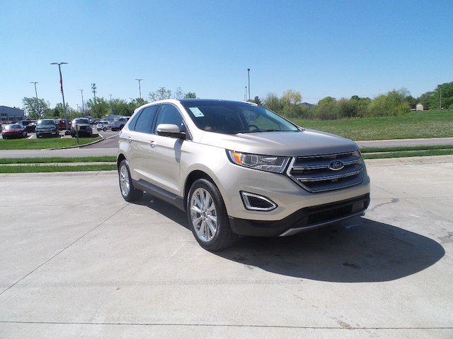 titanium used ford auto alloy edge express detail wheels navigation at iid in awd heated leather lafayette