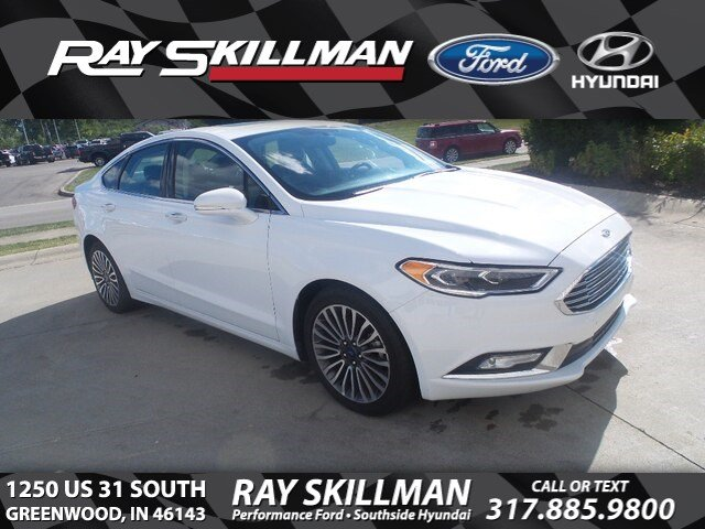 Certified Pre-Owned 2018 Ford Fusion UNKNOWN