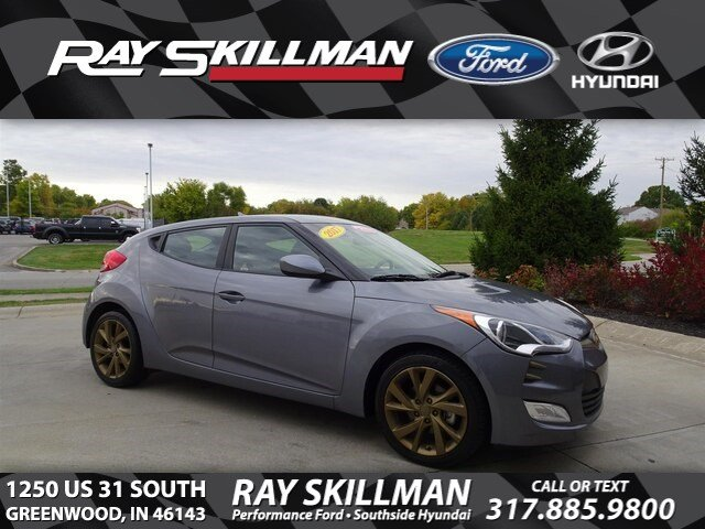 Certified Pre-Owned 2017 Hyundai Veloster 3DR CPE