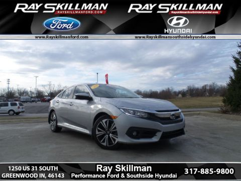 Pre-Owned 2016 Honda Civic EX-T FWD Sedan