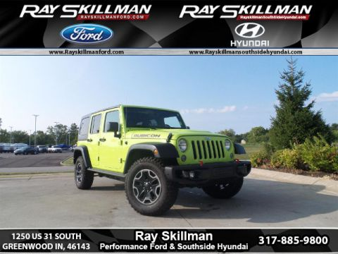 Used Jeep Wrangler Unlimited Rubicon HARD ROCK