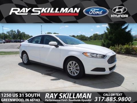 Certified Pre-Owned 2016 Ford Fusion S