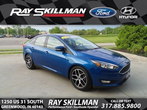Certified Pre-Owned 2018 Ford Focus SEL