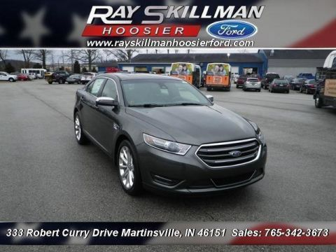 New 2018 Ford Taurus Limited FWD Sedan