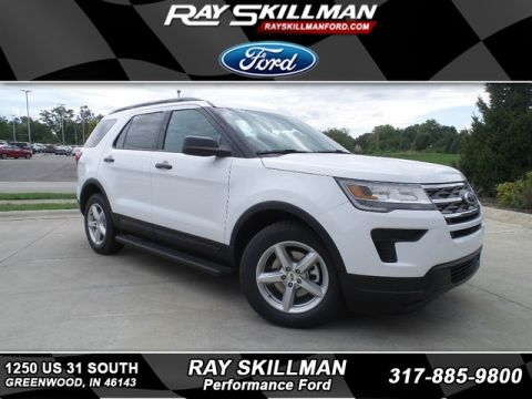 New 2019 Ford Explorer 4DR FWD BASE
