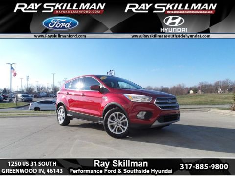 Certified Pre-Owned 2017 Ford Escape SE FWD SUV