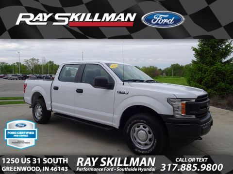 Certified Pre-Owned 2018 Ford F-150 XL 4WD