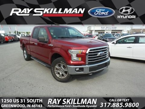 Certified Pre-Owned 2015 Ford F-150 CREW CAB XLT 4W