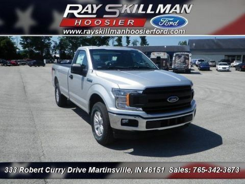 New 2018 Ford F-150 4WD REG CAB