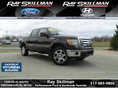 Pre-Owned 2009 Ford F-150 LARIAT 4WD