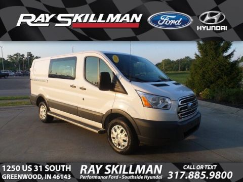 Certified Pre-Owned 2018 Ford Transit w/Sliding Pass-Side Cargo Door