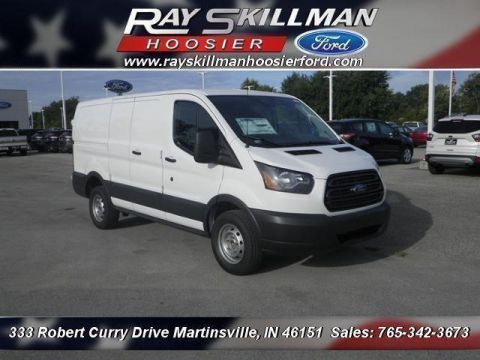 New 2017 Ford Transit-250 w/60/40 Pass-Side Cargo-Doors RWD Van