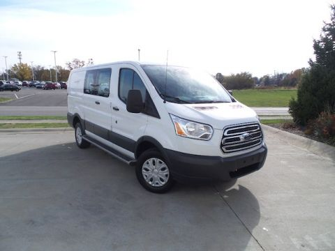 Certified Pre-Owned 2017 Ford Transit-250 w/60/40 Pass-Side Cargo-Doors
