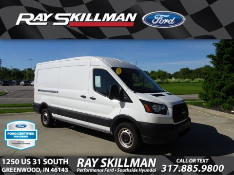 Certified Pre-Owned 2019 Ford Transit w/Sliding Pass-Side Cargo Door