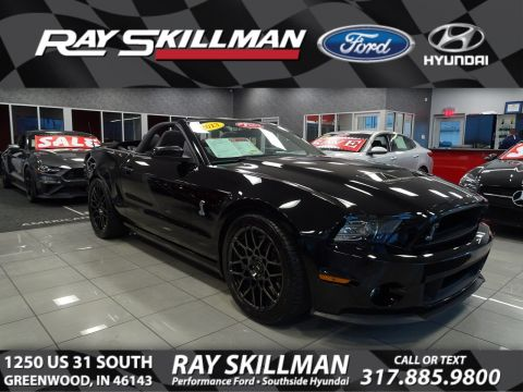 Pre-Owned 2013 Ford Mustang Shelby GT500