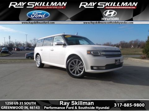 Certified Pre-Owned 2018 Ford Flex Limited AWD