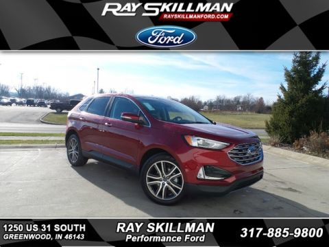 New 2019 Ford Edge Titanium