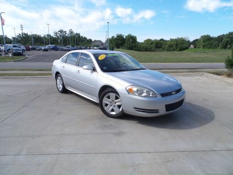 Pre-Owned 2011 Chevrolet Impala 4DR SDN LS RETAIL
