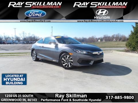 Pre-Owned 2016 Honda Civic LX FWD Coupe