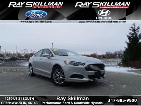 Certified Pre-Owned 2015 Ford Fusion SE FWD Sedan
