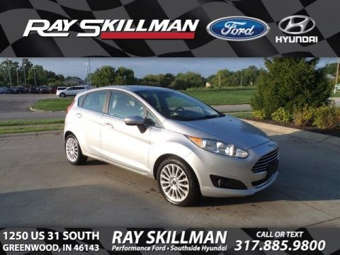 Certified Pre-Owned 2015 Ford Fiesta Titanium