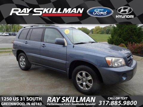 Pre-Owned 2005 Toyota Highlander V6 w/3rd Row