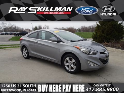 Pre-Owned 2013 Hyundai Elantra Coupe GS