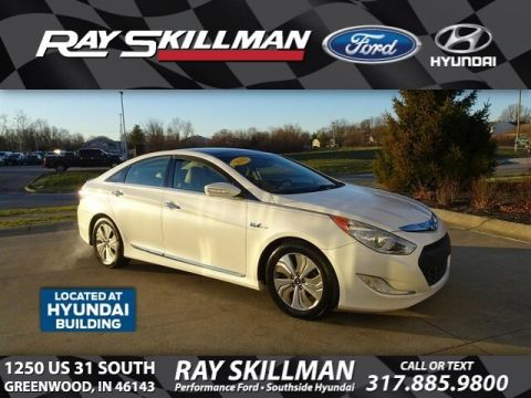 Pre-Owned 2013 Hyundai Sonata Hybrid Limited w/Panoramic Sunroof Pkg