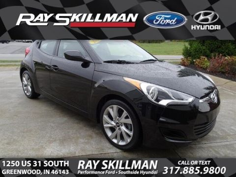 Certified Pre-Owned 2016 Hyundai Veloster 3DR CPE DUAL CL