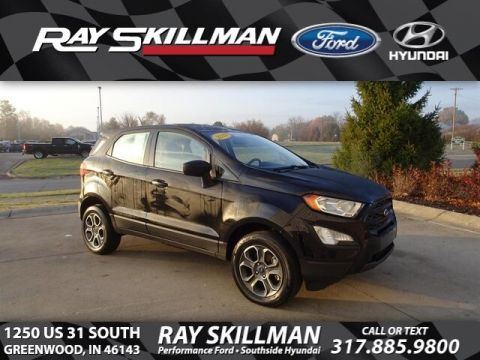 Certified Pre-Owned 2018 Ford EcoSport S